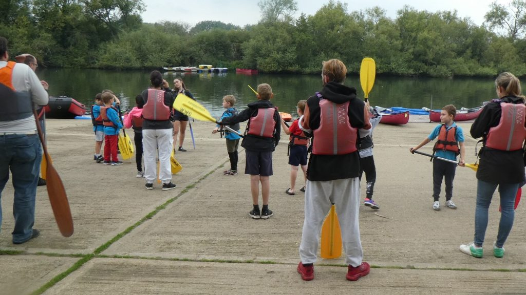 101st Beavers take to the water